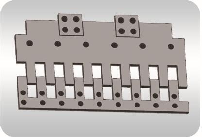 单元式多向变位伸缩装置