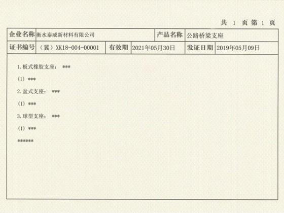 北京快三生产许可证